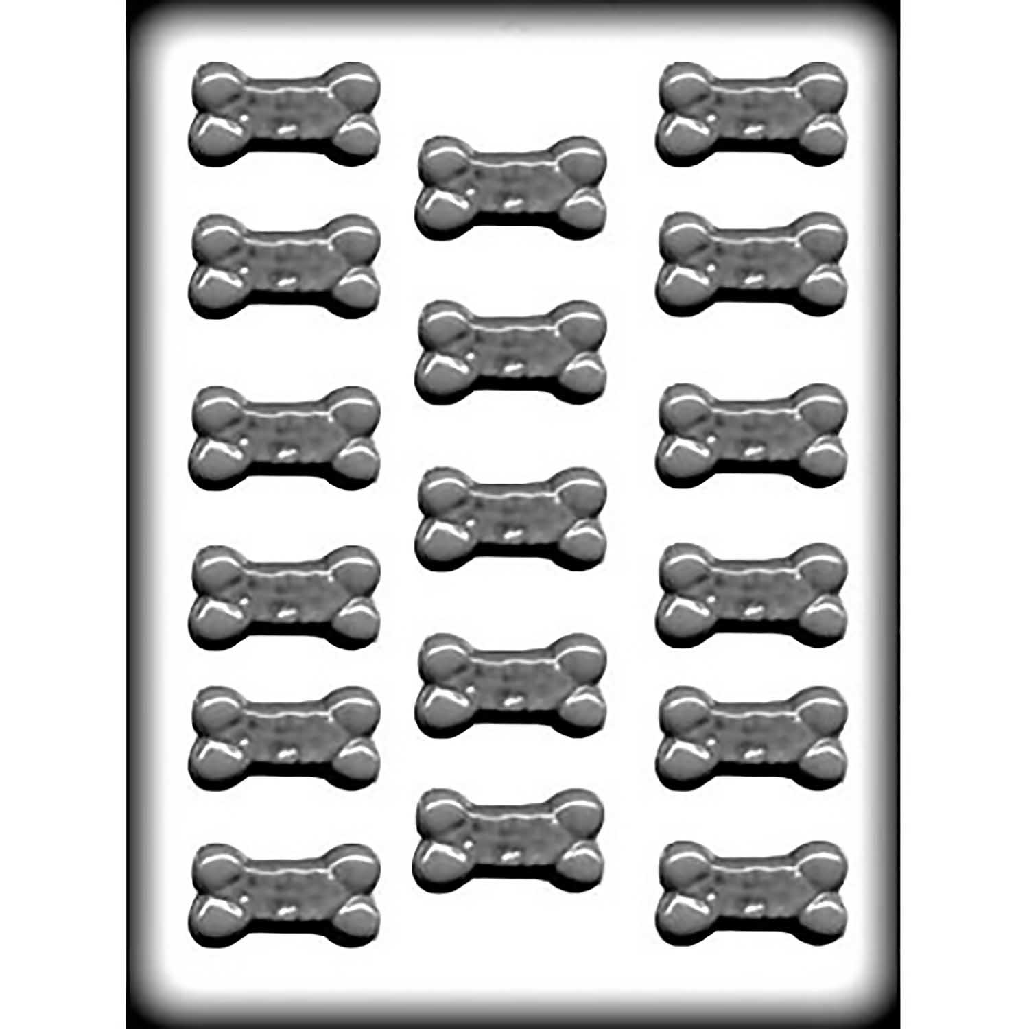 Small Dog Bone Hard CandyCookie Mold  8H11294  Country