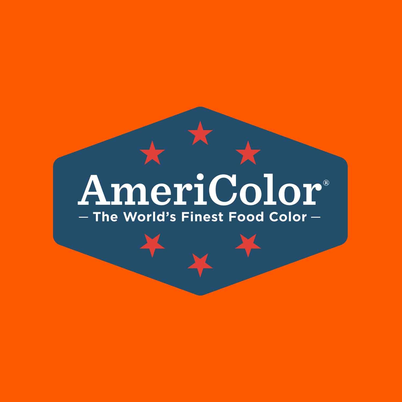 NeonElectric Orange AmeriColor Soft Gel Paste Food