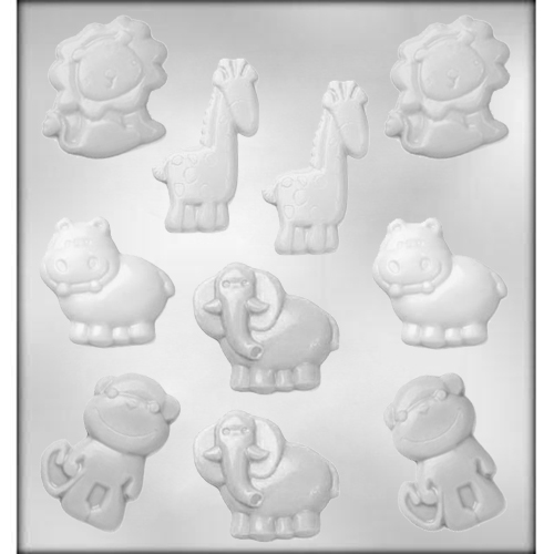 Baby Animals Chocolate Candy Mold CM Z8201 Country