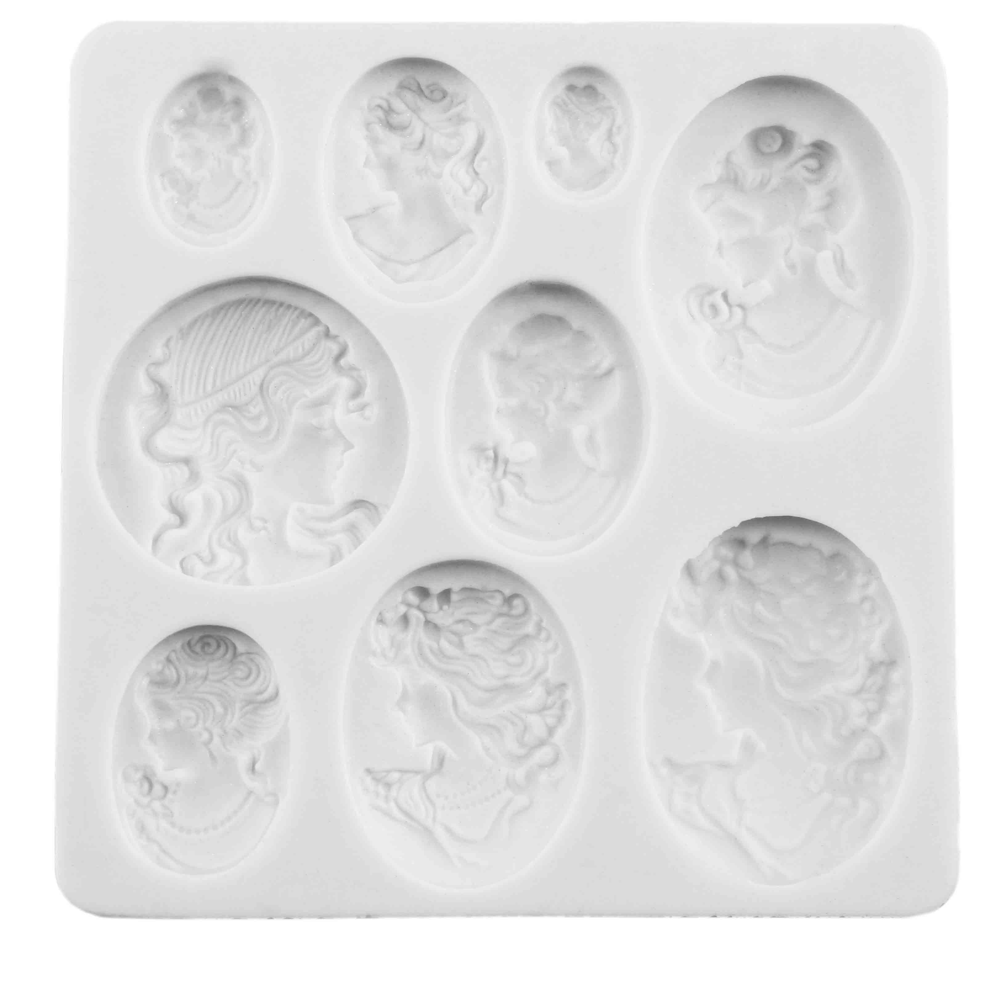 Cameo Collection Silicone Mold  MAM0175  Country