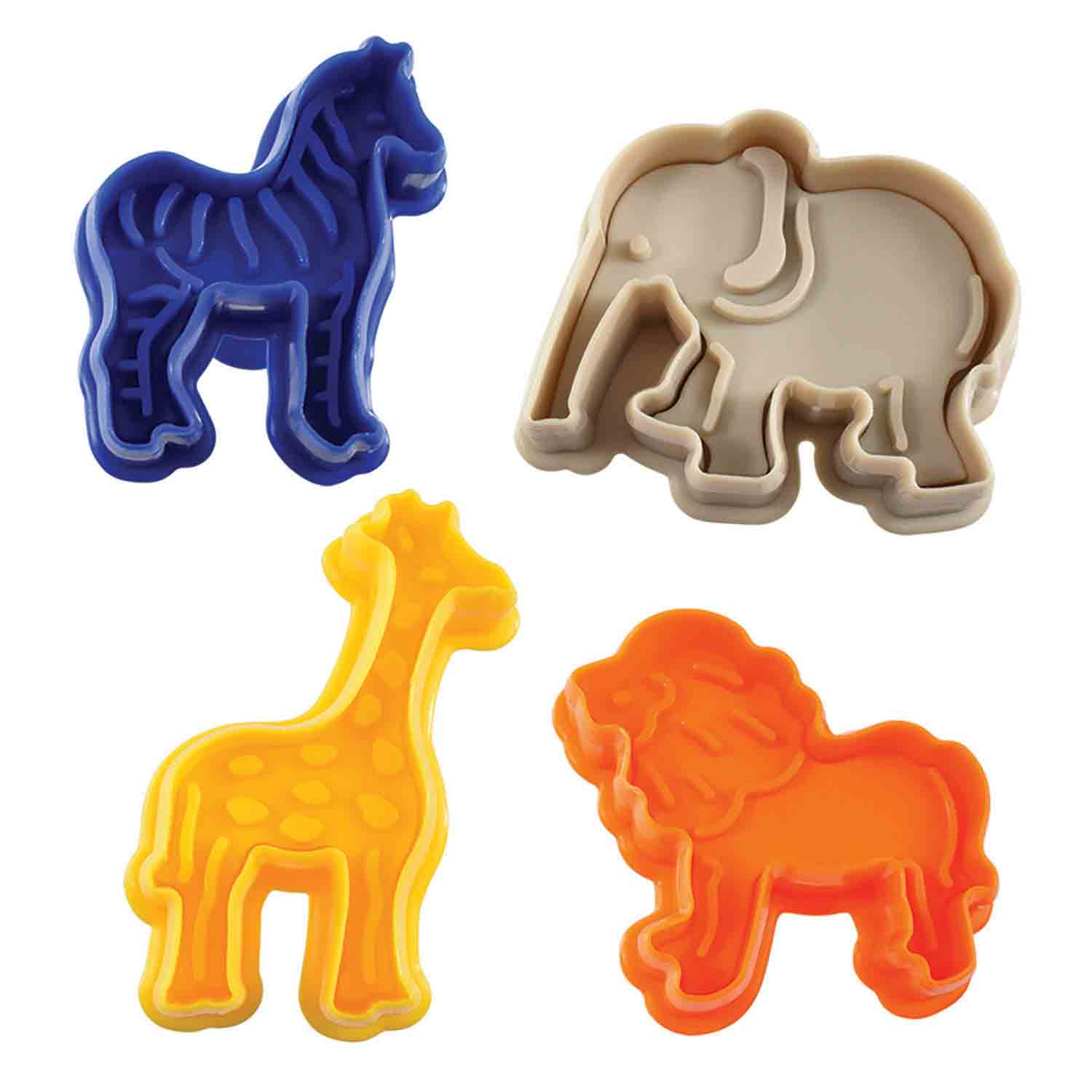 Jungle Animal Cookie Cutter Stamp Set RM 0498 Country