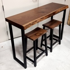 Storage Solutions For Toys In Living Room Sets 500 Dollars Small Walnut Live Edge Bar Table | Solid Hardwood ...