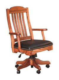 Amish Made Royal Desk Chair - Nationwide Delivery ...