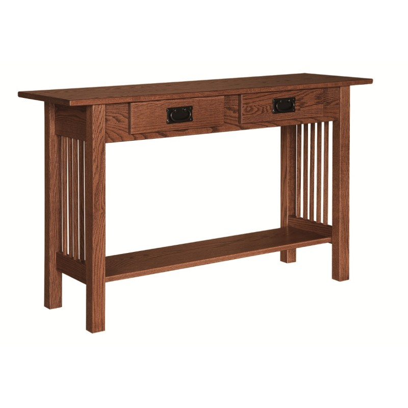 amish built sofa tables corner bed ebay mission hall table | - country ...