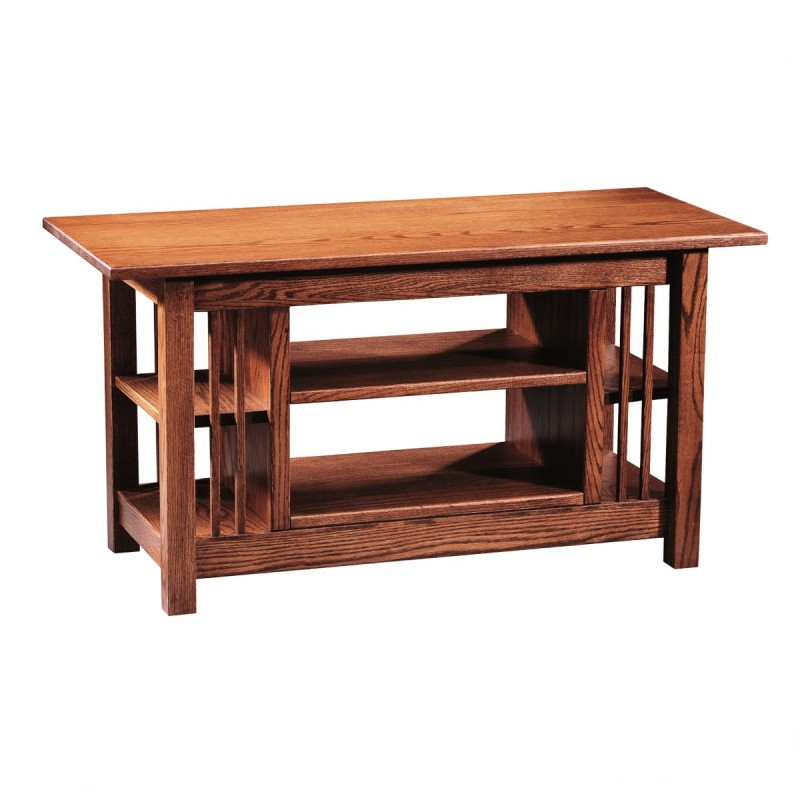 Mission Open TV Stand Amish Mission Open TV Stand