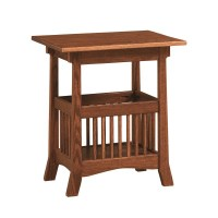 Royal Magazine End Table | Amish Royal Magazine End Table ...