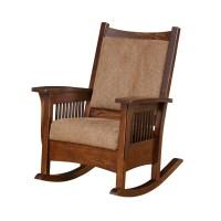 Mission Rocker | Amish Mission Rocker - Country Lane Furniture