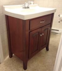 Custom Maple Bathroom Vanity | Custom Furniture PA ...