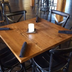 Custom Restaurant Tables And Chairs Outdoor Zero Gravity Chair Rochester Conference Table Cherry Dining Amish Rustic