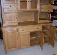Custom Oak Hoosier Cabinet - Country Lane Furniture