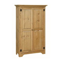 Solid Wood Toy Kitchen Cool Faucets Pine Medium Storage Cabinet | Amish ...