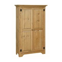 Pine Medium Storage Cabinet | Amish Pine Medium Storage ...