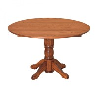 "Amish 48"" Round Drop-leaf Table - Country Lane Furniture ..."