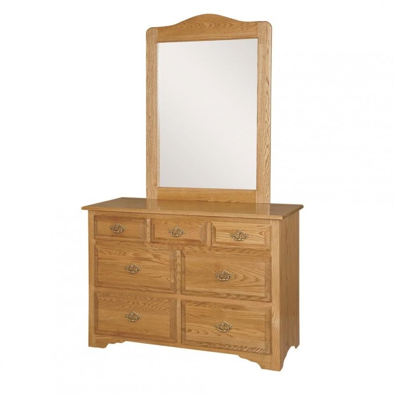 Springfield Small Dresser  Mirror  Amish Springfield Small Dresser  Mirror  Country Lane