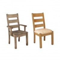 Amish Made Dining Room Chairs - Sturdy Solid Wood ...