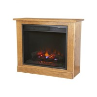 Small Portable Fireplace | Amish Small Portable Fireplace ...