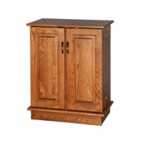 DVD & CD Storage Racks & Cabinets - Amish Crafted, Solid ...