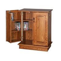 DVD/CD Cabinet | Amish DVD/CD Cabinet - Country Lane Furniture