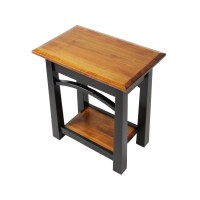 Madison Bow Small End Table | Solid Maple End Table ...