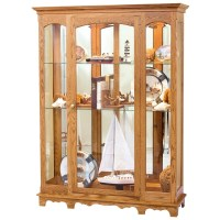 Curio Cabinet | Amish Large Curio Cabinet - Country Lane ...