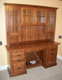 Custom Computer Desk| Amish Custom Computer Desk - Country ...