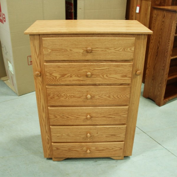 Custom Oak Jewelry Armoire Amish - Country Lane Furniture