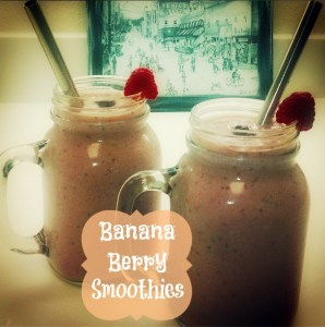 Nothing But Healthy Banana Berry Smoothie – Recipe