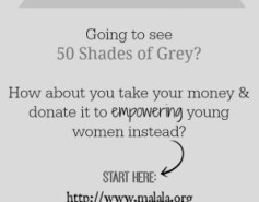 50 Shades of Grey Promotes Abuse