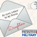 April-the Month of the Military Child: An Open Letter to my Bonus Daughters
