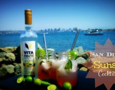 San Diego Sunset Cocktail using VEEV®|VitaFrute™