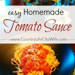 A Fast and Easy Tomato Sauce Recipe