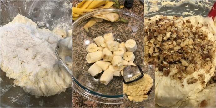 Banana Walnut Cream Cheese Muffins