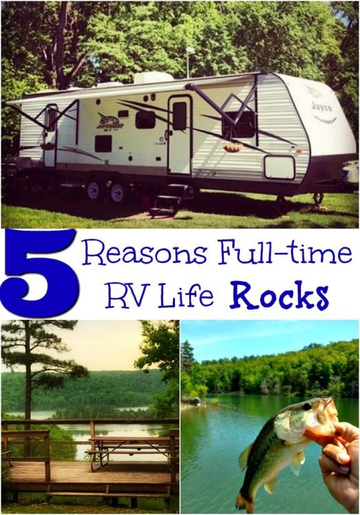 Full Time RV Life Rocks