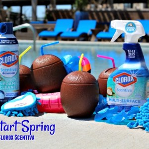 spring cleaning with clorox scentiva
