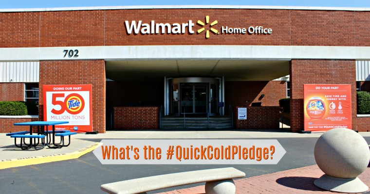 Celebrate Earth Day with Tide and the #QuickColdPledge