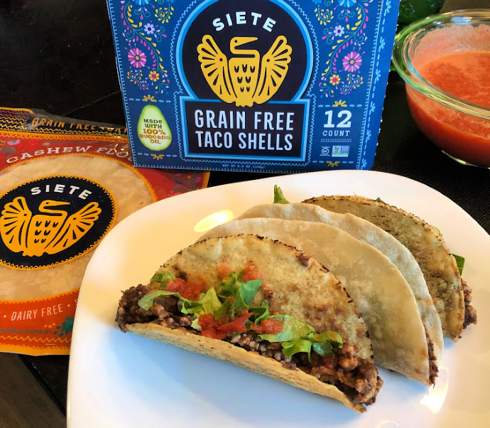Alpha-gal safe food choices-Mexican and Siete Foods