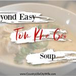 Alpha-gal Safe Tom Kha Gai Soup