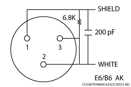Wiring Schematic Uniden 1000 Ohm Condenser Mic,Schematic