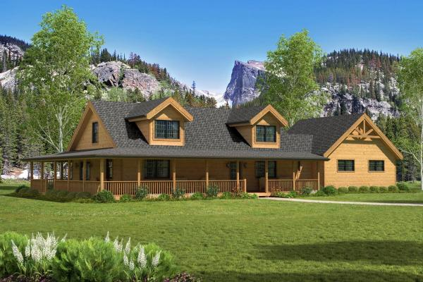Countrymark Log Homes Countrymark- Energy Efficient