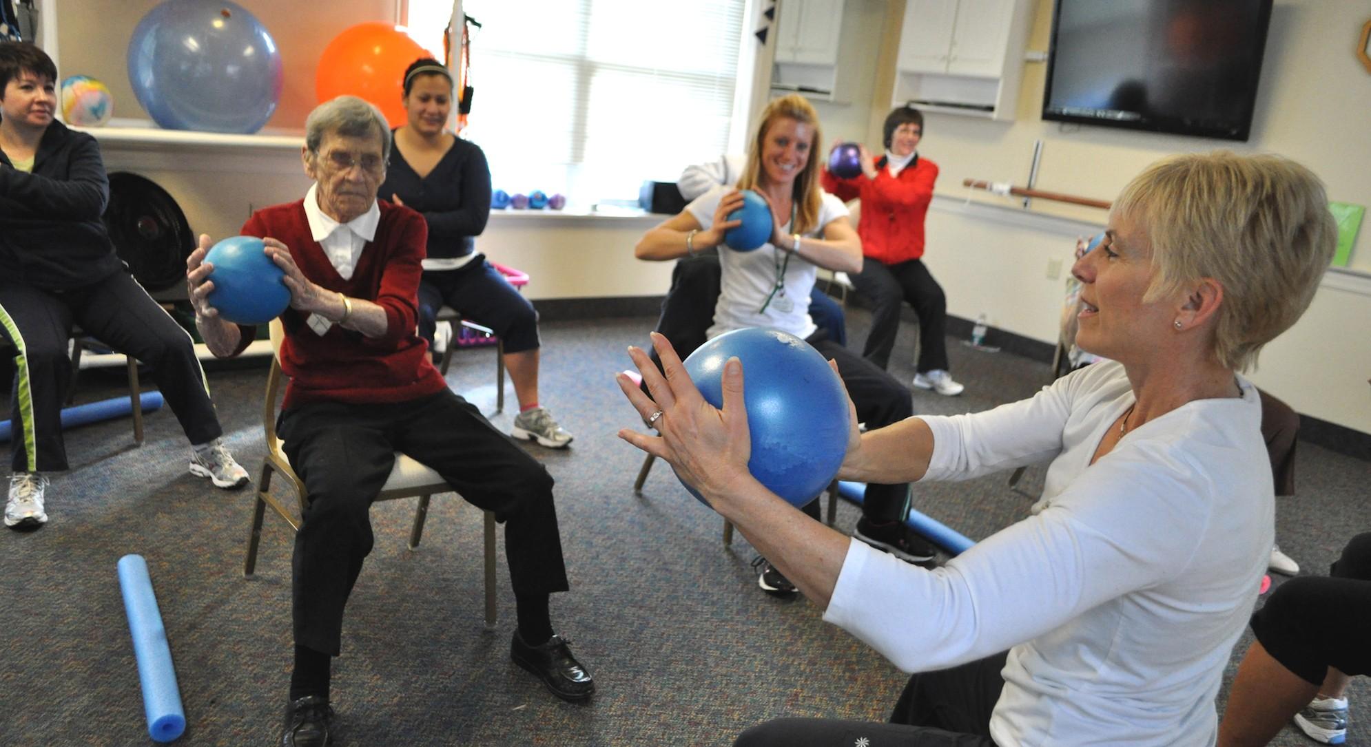 Falls Prevention Programs Make Life Better In Senior Communities