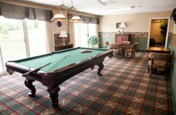 Pool Table at Country Meadows of South Hills