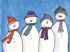 """A Christmas Chorus"" Artist: Donna Jirik-Country Meadows of Hershey"