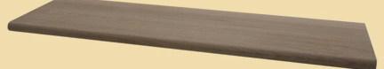 Wood Stair Treads | Dark Wood Stair Treads | Timber | White Handrail | Dark Stained | Natural Wood | Wood Finish