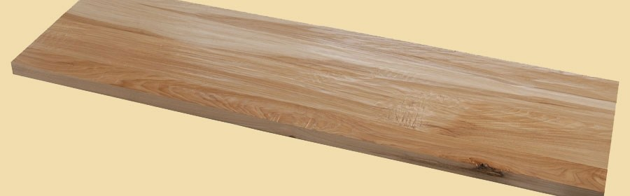 Hickory Hand Scraped Plank Countertop | Hand Scraped Stair Treads | Tread Width | Brazilian Cherry | Stair Parts | Hardwood Floors | Laminate Flooring