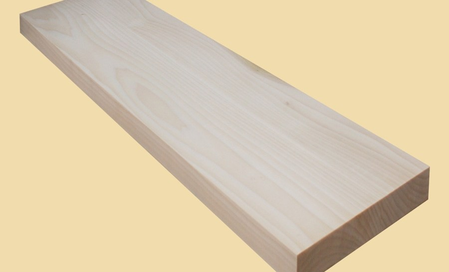 Custom Size Poplar Extra Thick Stair Tread Prefinished Quote | Solid Maple Stair Treads | Soft Maple | Stair Parts | Risers | Red Oak Stair | Hardwood Floors