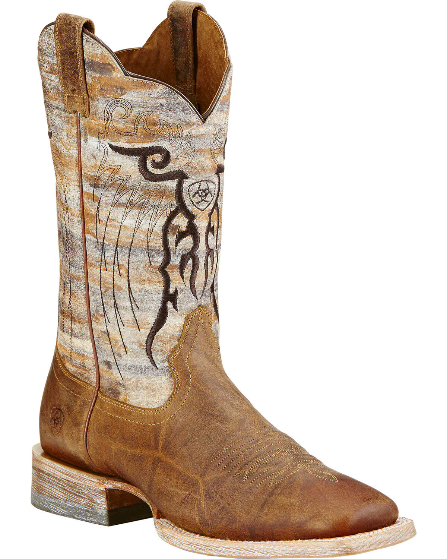 ariat tan mesteno cowboy boots
