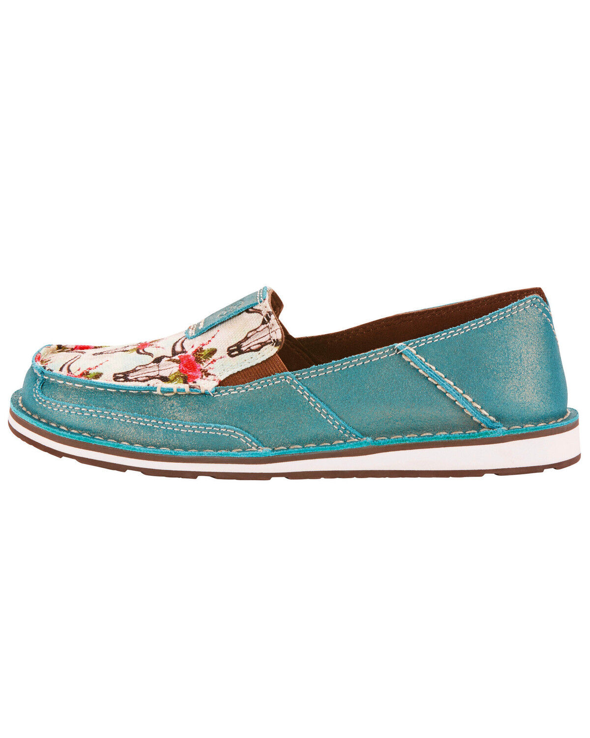 Ariat Womens Turquoise Cruiser Shoes  Country Outfitter