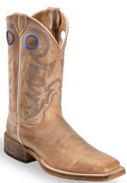 justin men's bent rail cowboy boots