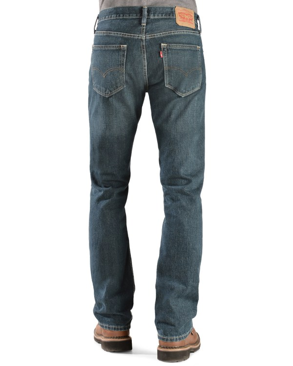 Levi' 527 Jeans - Prewashed Rise Boot Cut Country Outfitter