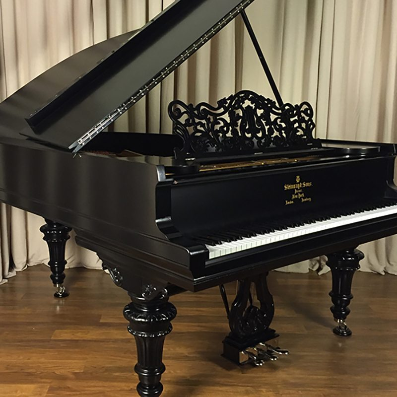1903 Steinway Quot A Quot Grand Piano Victorian Ebony Piano